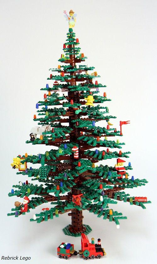 Árbol de Navidad de Rebrick Lego