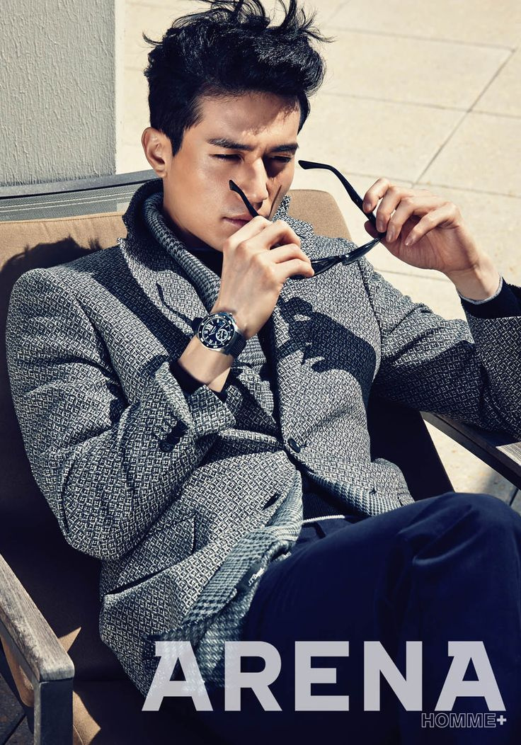Lee Dong Wook - Arena Homme Plus Magazine October Issue '14