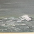 The storm at sea with the big wave is 42 x 58 cm. Price R900