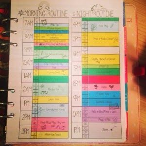 How to get a Scheduled Routine going for Stay at Home Moms plus my Tips | MsWenduhh Planners & Printables