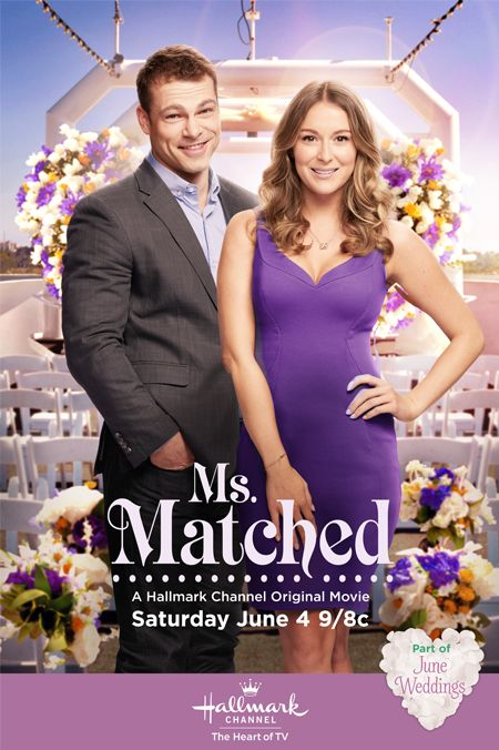 "Its a Wonderful Movie - Your Guide to Family Movies on TV: Hallmark Channel Original Movie ""Ms. Matched"" starring Alexa PenaVega & Shawn Roberts"