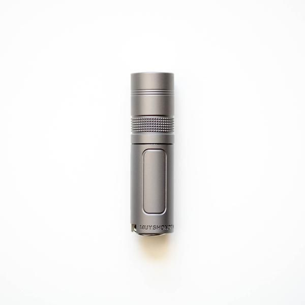 Flashlight - Muyshondt Maus Mk. I - Bead Blasted Titanium (Limited) EDC