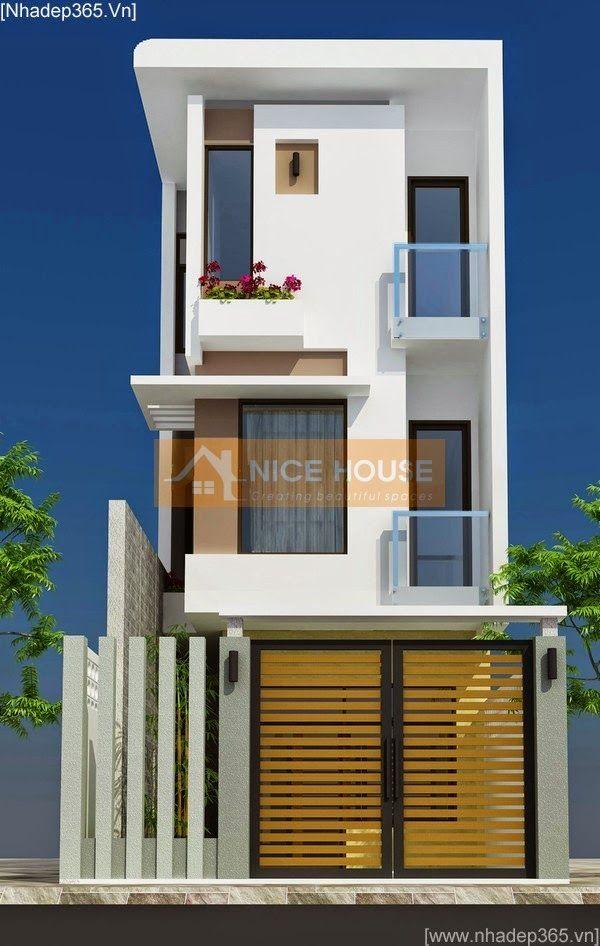 Tư vấn thiết kế nhà phố 90m2 gồm 3 tầng