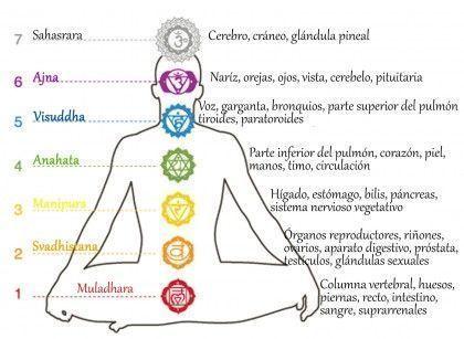 Los 7 chakras del cuerpo humano y como activarlos
