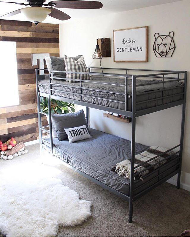 Bunk Beds In Kids Room Great Way To Save Space Kids Furniture Kids Room Design Interior De Bunk Beds For Boys Room Bunk Bed Designs Bunk Bed Room Ideas