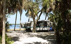 Fort Desoto in Florida. One of my most favorite places in the world! Great camping!