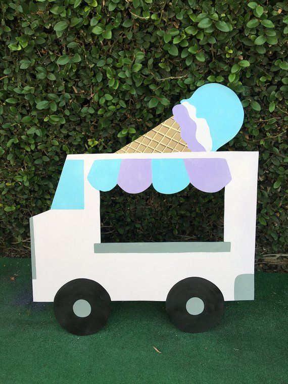 Diy Ice Cream Truck : cream, truck, Cream, Truck, Truck,, Birthday, Party,, Party, Theme