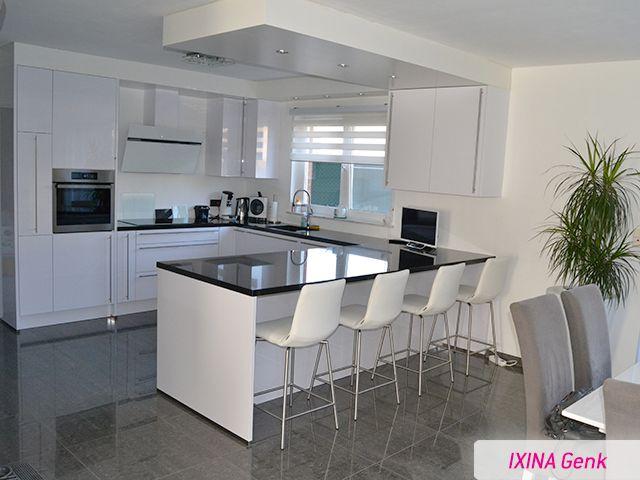 keukenrealisatie ixina genk r alisation cuisine ixina genk greeploze keuken cuisine sans. Black Bedroom Furniture Sets. Home Design Ideas