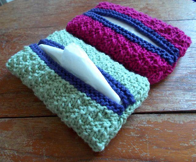Free Knitting Pattern For Tissue Holder : Tishoo - knitted tissue cover pattern by Ellen Kapusniak ...