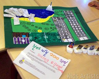 Kids Artists: Design your own board game