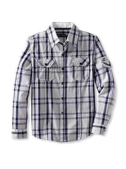 Smash Boy's Long Sleeve Woven Shirt, http://www.myhabit.com/redirect/ref=qd_sw_dp_pi_li?url=http%3A%2F%2Fwww.myhabit.com%2F%3F%23page%3Dd%26dept%3Dkids%26sale%3DAQ2Z2800DMKUV%26asin%3DB00C1WA77Q%26cAsin%3DB00C1WA7OY