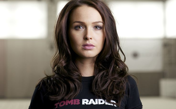 British Actress Camilla Luddington, born 1983, has been unveiled as the new voice of Lara Croft in the Tomb Raider reboot. Description from forum.tombraidergirl.net. I searched for this on bing.com/images