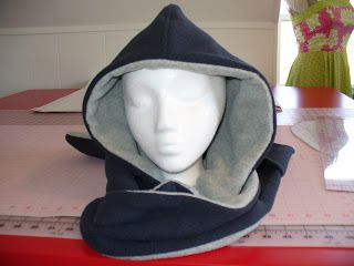 This looks better than hat and scarf - Becca's Crazy Projects: How to make a Scoodie