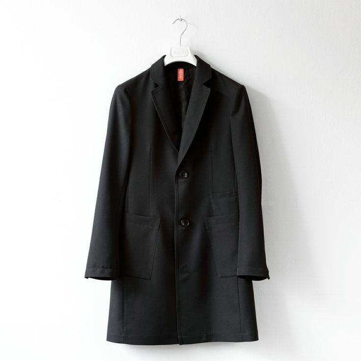 FRENN SS14 - Pekka recycled polyester twill coat  www.frenncompany.com