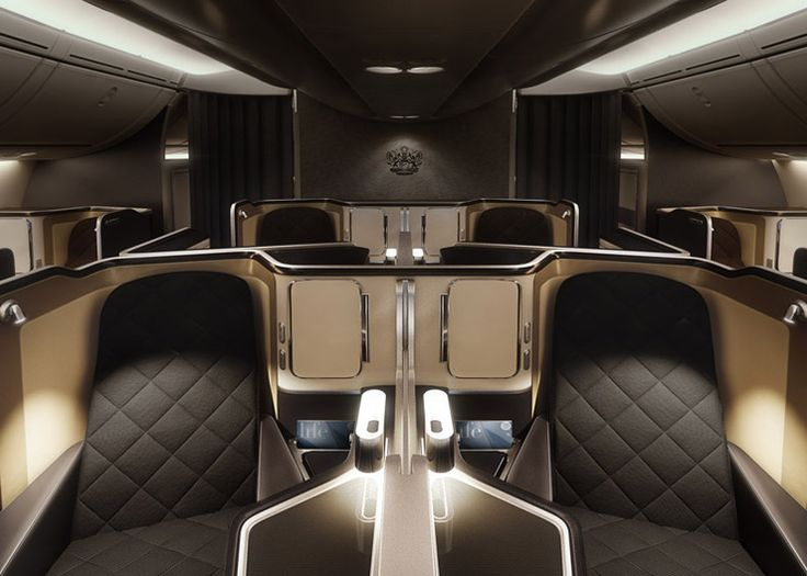 First-class cabin interiors for British Airways' new Dreamliners | British  airways, Cabin and British
