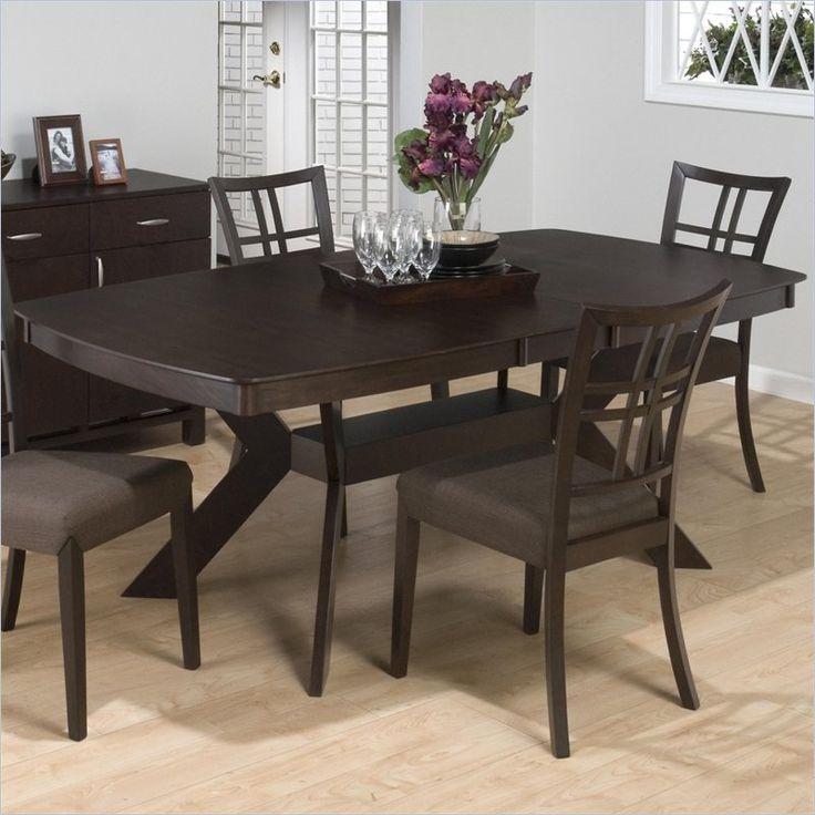 Jofran Pedestal Rectangular Dining Table In Ryder Ash 471 78 Kit Lowest