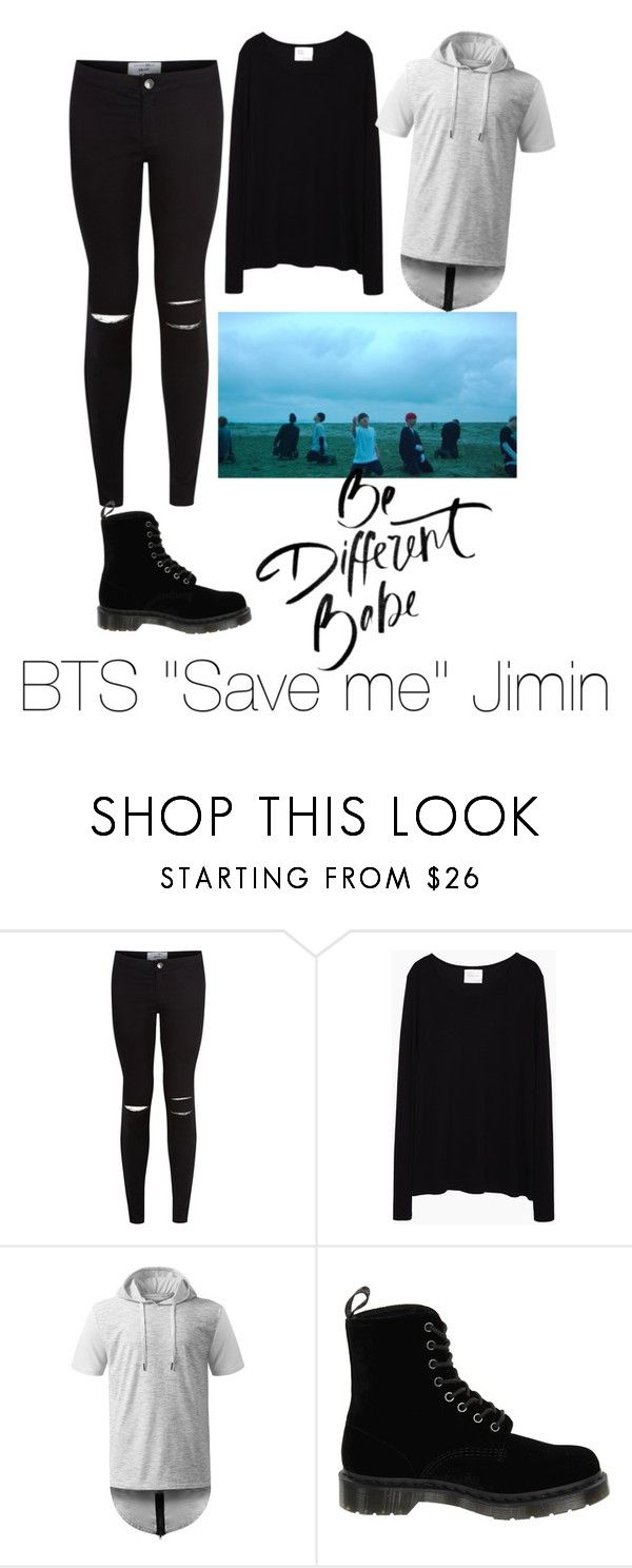 """BTS ""Save me"" Jimin"" by zimbakatt1 on Polyvore featuring New Look, La Garçonne Moderne and Dr. Martens"