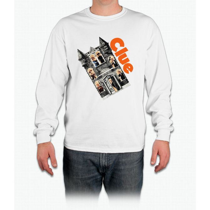 Clue Movie Game Funny Bee Movie Long Sleeve T-Shirt