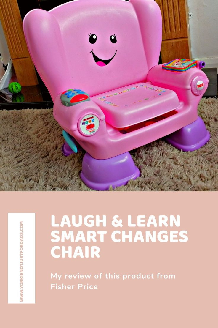Laugh learn smart changes chair from fisher price review