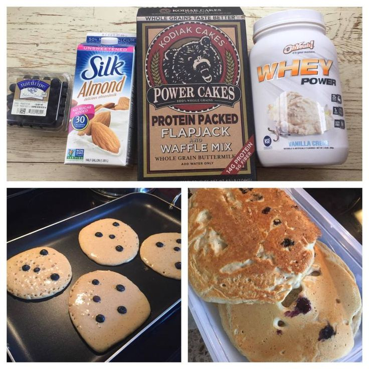 Kodiak Protein Pancakes from Jen the Fit Foodie