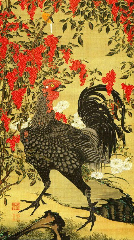 Jakuchu ITO (Japanese: 1716~1800)
