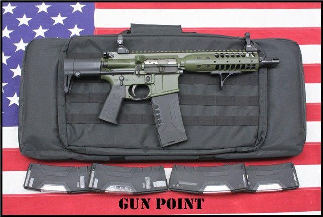 LWRC GREEN PDW B5 GRIPSTOP 5 MAG 556 SBR TAC-PAC : Short Barrel Rifles (SBR) at GunBroker.com
