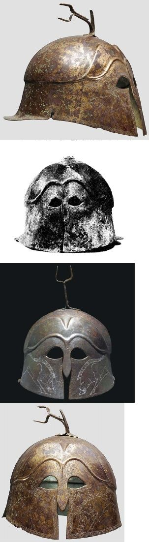 Apulo-коринфского Шлем: юго-восток Курсив шлем и то, что он может сказать о социальном и культурном контексте, в котором он был использован, не опубликовано 2013 | Сандер Kools - Academia.edu
