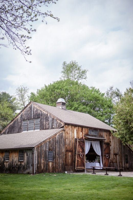 Webb Barn Connecticut Wedding