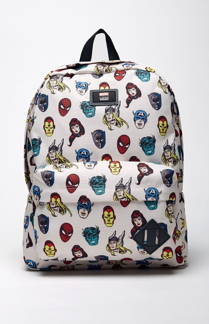 f724b53c94 VANS Vans x Marvel Old Skool II Backpack. #vans #bags #polyester #backpacks  #