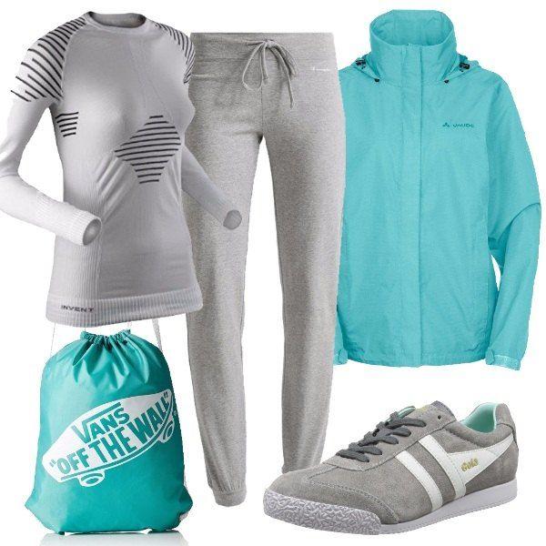 Adatto veramente a chiunque voglia cominciare a tenersi in forma passeggiando o camminando. Tutto è ispirato alla comodità ed alla morbidezza, unito alla maglia tecnica ed alla giacca anti vento.