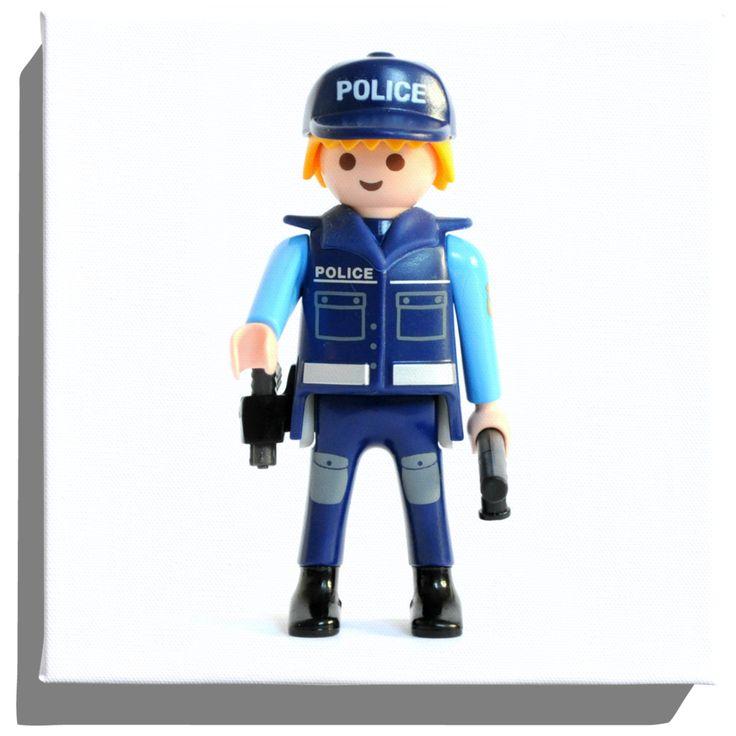 17 best lego blocks images on pinterest lego blocks - Playmobile policier ...