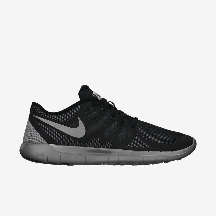 Nike Free 5.0 Mens Point Poche Polka Noir Et Blanc Carré