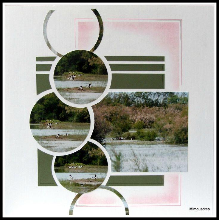 Jolie mise en page où courbes et droites se complètent harmonieusement.