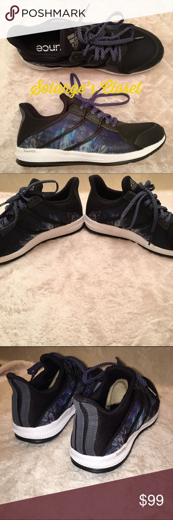 ADIDAS BOUNCE SNEAKERS -RARE!  -BRAND NEW! -NO FLAWS! -DO NOT ASK LOWEST OR SUBMIT AN OFFER IN THE COMMENTS!  -I ACCEPT REASONABLE OFFERS THROUGH OFFER BUTTON ONLY!  -I CAN'T ACCEPT AN OFFER IF YOU DON'T MAKE ONE😊  ‼️LOWBALLERS- MY ITEMS ARE NOT FREE & POSH DEDUCTS 20%! MOST OF MY ITEMS ARE RARE & IMPOSSIBLE TO FIND- PLEASE BE RESPECTFUL WHEN SUBMITTING AN OFFER‼️  🚨NO HOLDS🚨 🚨NO TRADES🚨  ALSO LISTED ON Ⓜ️ERCARI! Adidas Shoes Sneakers