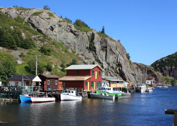 Quidi Vidi Fishing Village Newfoundland by KaEPhotography on Etsy. Cool little spot to visit if ever in and around St. John's, NL.