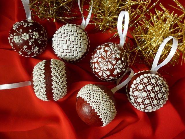 Gingerbread christmas decoration. Fantastic! | Medovníky Artmama.sk