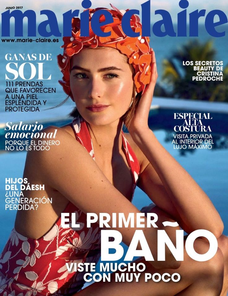 1232 best covers images on pinterest fashion cover journals and sanne vloet poses in chic beach fashions for marie claire spain fandeluxe Gallery