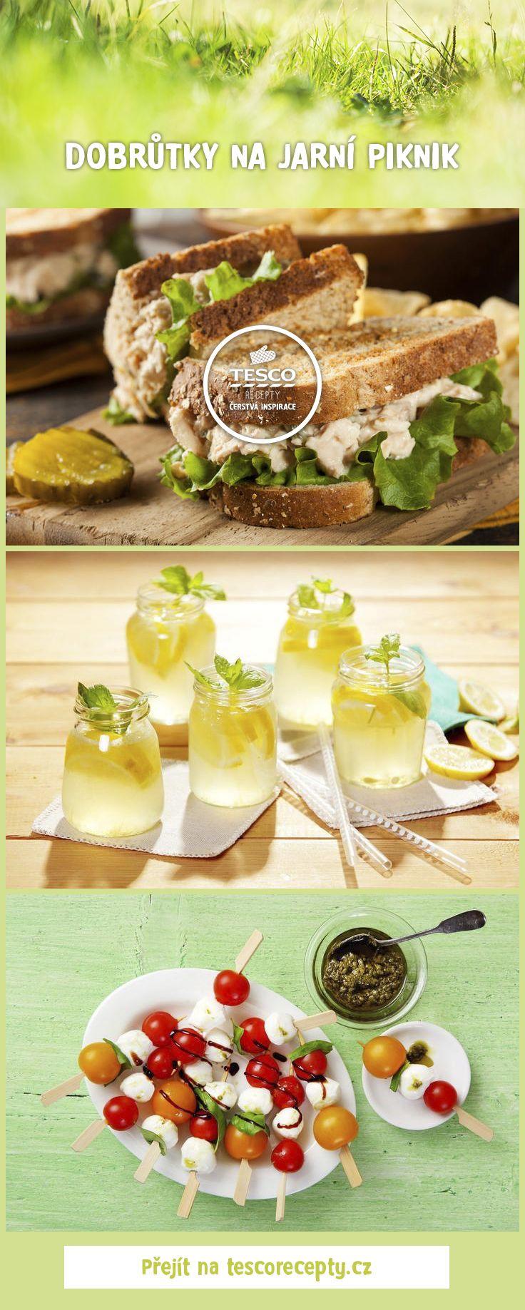 Jarní piknik? S našimi recepty vás nepřekvapí