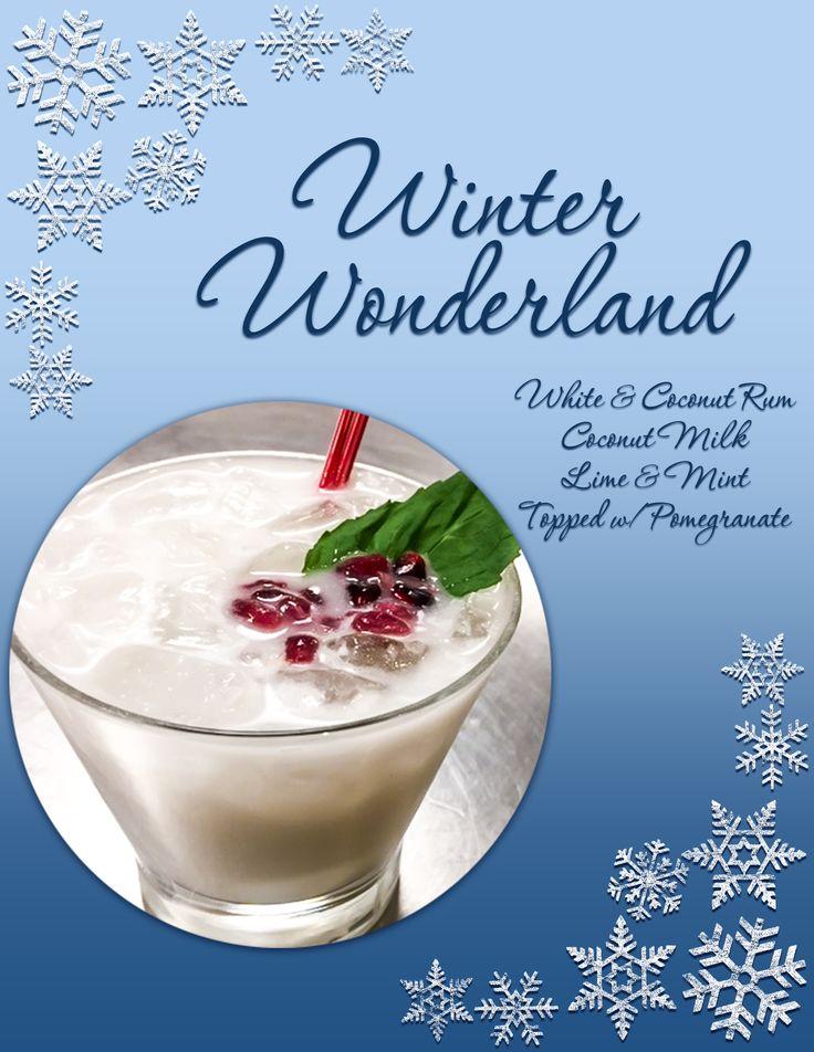 Bangor is a winter wonderland enjoy specialty drinks