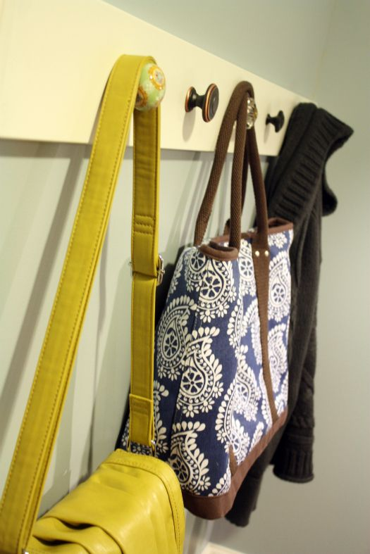 Weekend DIY {Bathroom Organization}. Handbag StorageShoe ...