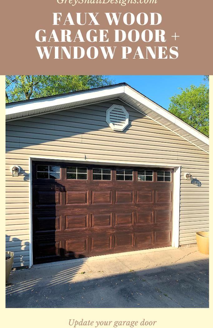 Another Garage Door Update With Minwax Gel Stain In 2020 Garage Doors Minwax Gel Stain Garage Door Update