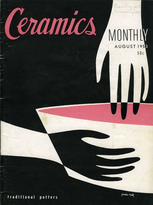 Ceramics Monthly should be selling prints of these old covers... Found via SF Girl by Bay.