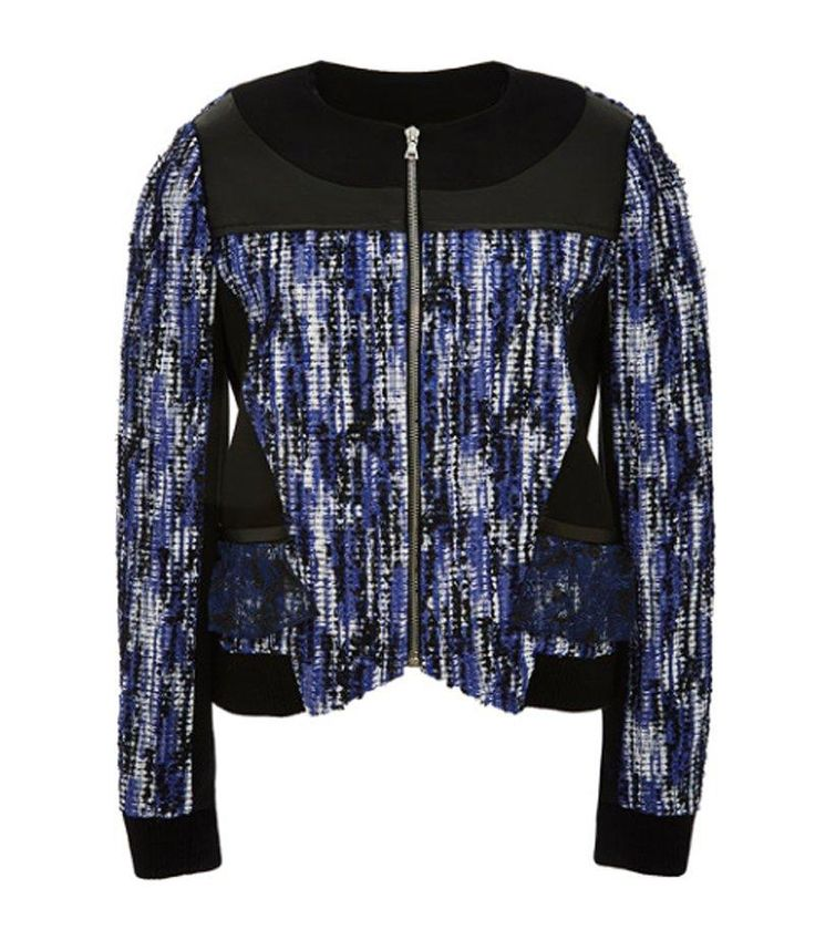 Prabal Gurung draped-back bomber