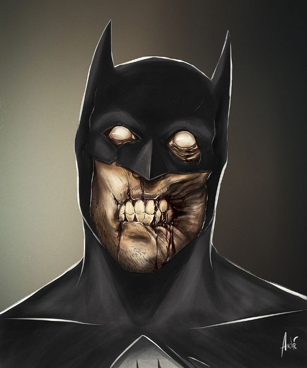 Zombified Cartoon Caracters by Andre De Freitas!!!
