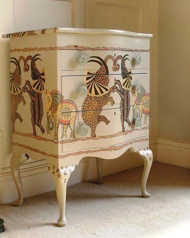 Ardmore 'Safari Dance' cupboard