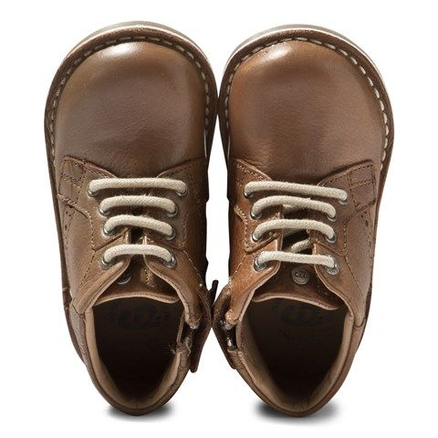 Mayoral Brown Brogue Detail Desert Boots