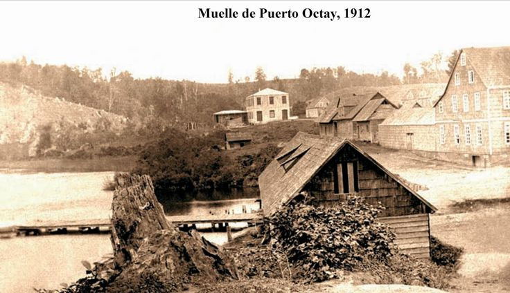 Muelle de Puerto Octay, 1912