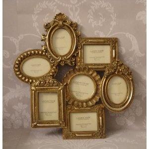 table plan - gold frame