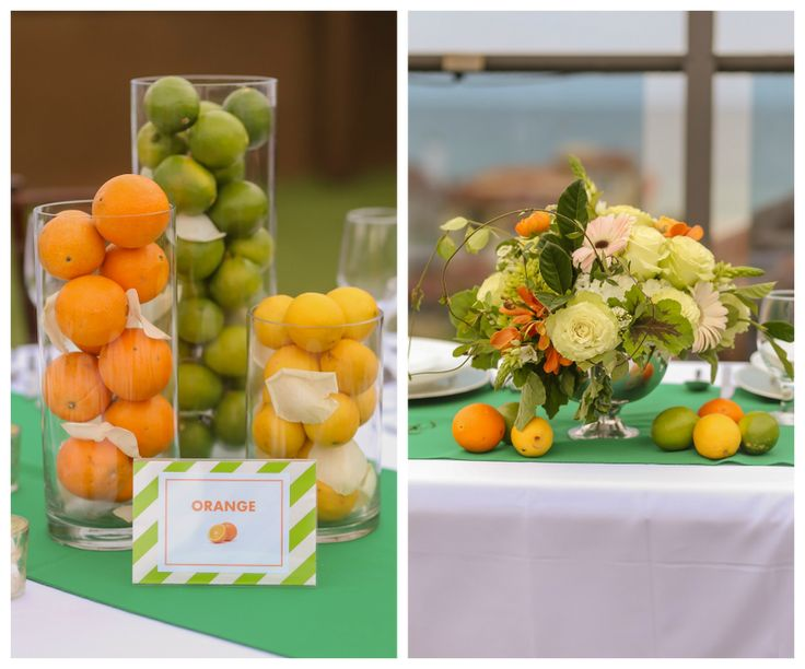 17 Best Images About Wedding Citrus On Pinterest Green