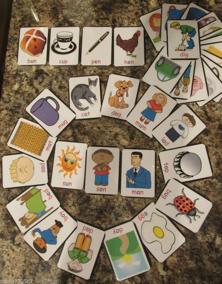 Details about Montessori, reading and writing flash cards